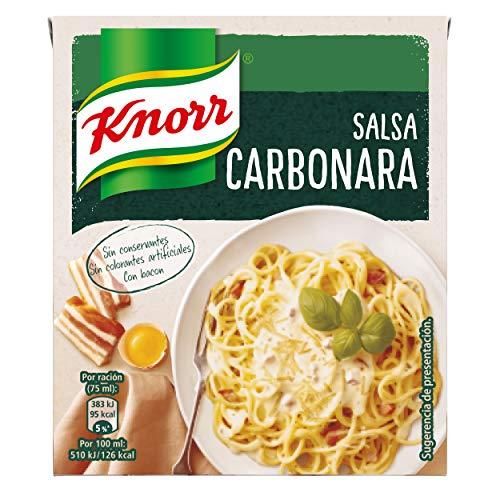Knorr Salsa Para Cocinar Líquida Carbonara 300Ml (Pack De 12