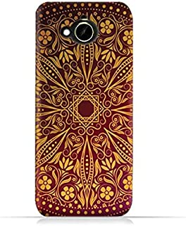 HTC Desire 10 Compact TPU Silicone Protective Case with Floral Pattern 1201