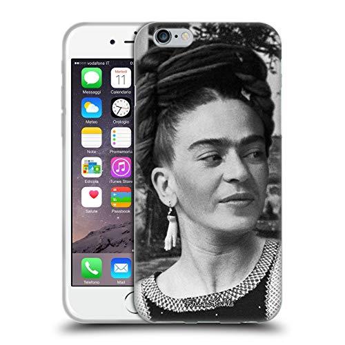 Head Case Designs Licenza Ufficiale Frida Kahlo Vestito Testa Primi Piani e Citazioni Cover in Morbido Gel Compatibile con Apple iPhone 6 / iPhone 6s