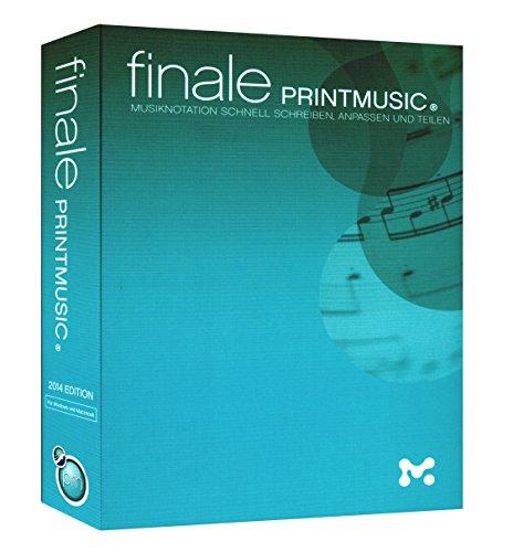 PRINTMUSIC Finale 2014 - die ideale Musik-Notationssoftware für alle Lehrer, Dozenten, Musiker, Komponisten und Arrangeure [für Windows und Macintosh]