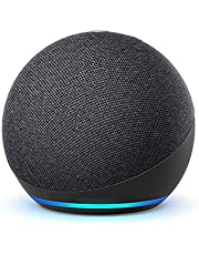 All-new Echo Dot (4th generation) | Smart speaker with Alexa | Charcoal