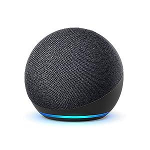 Wir stellen vor: Echo Dot – unser beliebtester smarter Lautsprecher mit Alexa. Das geradlinige, kompakte Design sorgt für satten Klang, dank klarem Sound und ausgewogener Basswiedergabe. Sprachsteuerung für Ihre Unterhaltung – Streamen Sie Songs von ...
