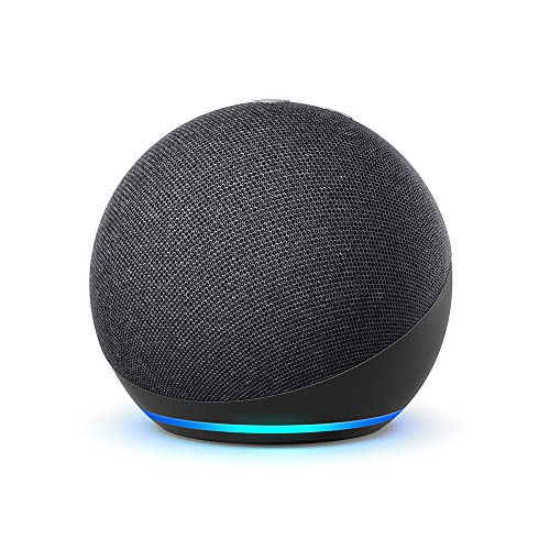 Echo Dot (4ª generazione), Ricondizionato Certificato, Antracite | Altoparlante intelligente con Alexa