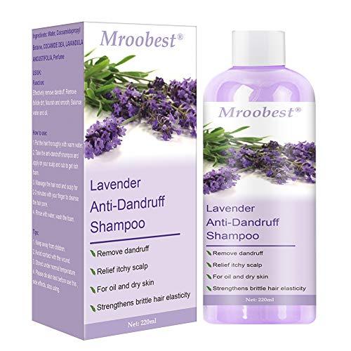 Anti Dandruff Shampoo, Psoriasis shampoo, Anti Schuppen Shampoo, Lavender Shampoo, Hilfe Gegen Kopfhautjucken und Schuppenbildung - für Damen & Herren