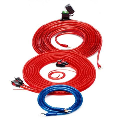 Sinuslive KS-6 Kit de câbles pour amplificateur de Voiture 6 mm2
