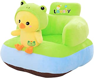 Baby Sofa Chair Stuffed Cartoon Animal Toddler Sofa Protector Couch Bed Infant Sitting Chairs for Supporting Seat Pillow Cushion Kid s Toys