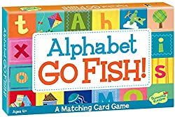 Alphabet Go Fish Matching Card Game
