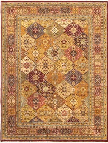 Pasargad Home Max 89% OFF Tabriz Online limited product Collection Hand-Knotted Lamb's A Multi Wool