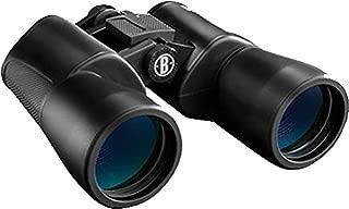 Bushnell 131056 Power View Binoculars, 10x50mm, BAK 7 Porro Prism, Black, 341 ft FOV 1000 yd