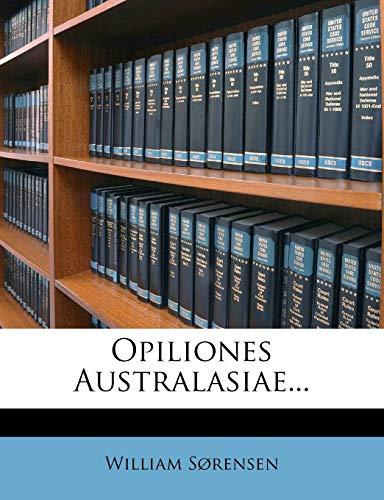 Opiliones Australasiae...
