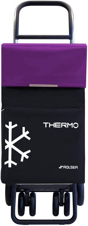 Shopping Chariot ROLSER termo Fresh MF 4 Roues-Violet