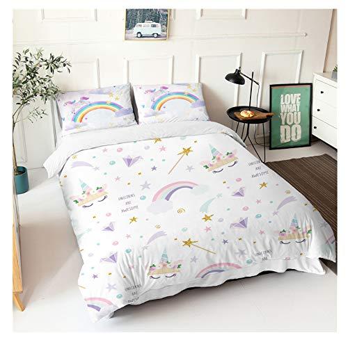 edredón unicornio cama 90 fabricante WEIGUANG