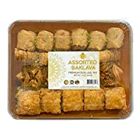 EF - Premium Assorted Baklava,15 OZ (425G), Halal, Kosher