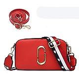 Zzlynk sm all bag bandolera pequeña versión coreana femenina de la bolsa de niña fashion wild Messenger bag red (correa de hombro de distribución 2) bolso especial para mujer de moda