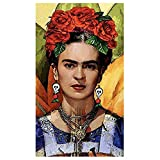 JASONNHZ Frida Kahlo Schädel Ohrringe Tragen