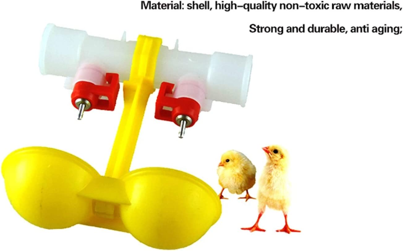ZUZEN 4 Limited time cheap sale Pcs Chicken Nipple 100% quality warranty Feed Waterer Chick Drinkers Automatic