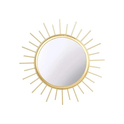 80e12a1c59c6d Sass and Belle Gold Sunburst Mirror