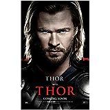 Chris Hemsworth 8x10 Photo Thor/Avengers THOR Coming Soon poster Headshot kn