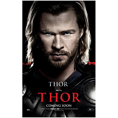 Chris Hemsworth 8x10 Photo Thor/Avengers THOR Coming Soon poster Headshot kn