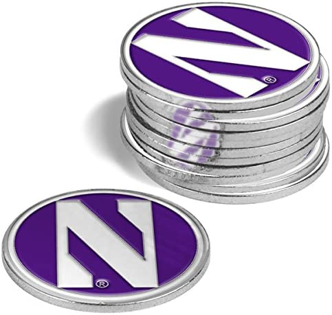 LinksWalker Northwestern Wildcats - Indianapolis Mall Markers Ball Pack 12 Special Campaign