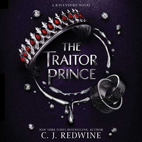 The Traitor Prince audiobook cover art