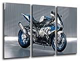 Poster Fotográfico Moto BMW, Motor Tamaño total: 97 x 62 cm XXL
