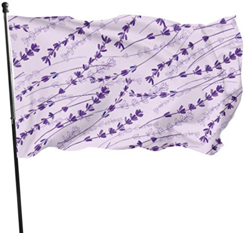 Decorazioni per il giardino Bandiere/Bandiera, Stock Vector Lavender Colorful Seamless Vector Pat Yard Flags Hanging Flag Decor 3x5 Feet Vibrant Colors Quality Polyester and Brass Grommets