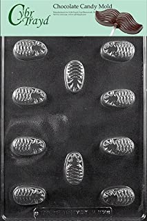 Cybrtrayd Life of the Party F109 Pineapple for Filling Fruit Chocolate Candy Mold in Sealed Protective Poly Bag Imprinted with Copyrighted Cybrtrayd Molding Instructions