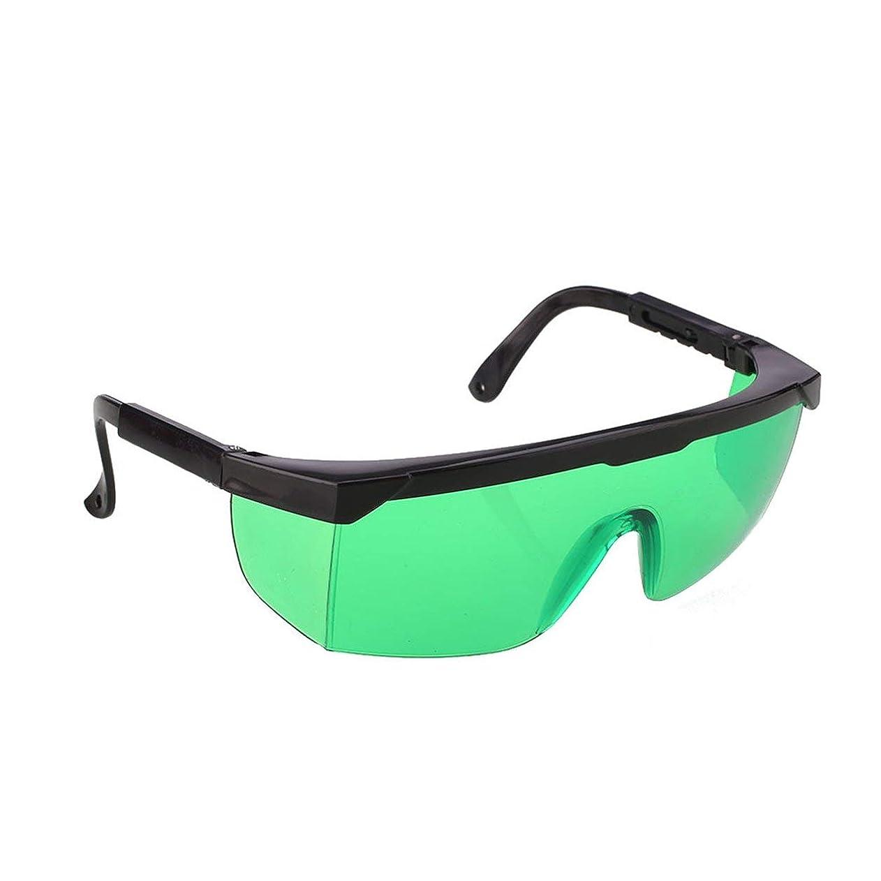 地震十代の若者たちはいSaikogoods 除毛クリーム ポイント脱毛保護メガネユニバーサルゴーグル眼鏡を凍結IPL/E-光OPTのためのレーザー保護メガネ 緑
