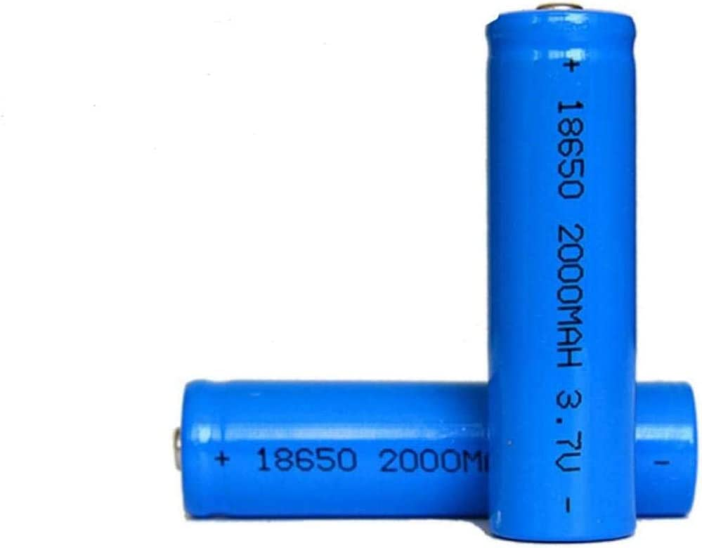 18650 Lithium Battery 2000 MAH 7V Rechargeable OFFicial site Max 69% OFF 3 Capacit