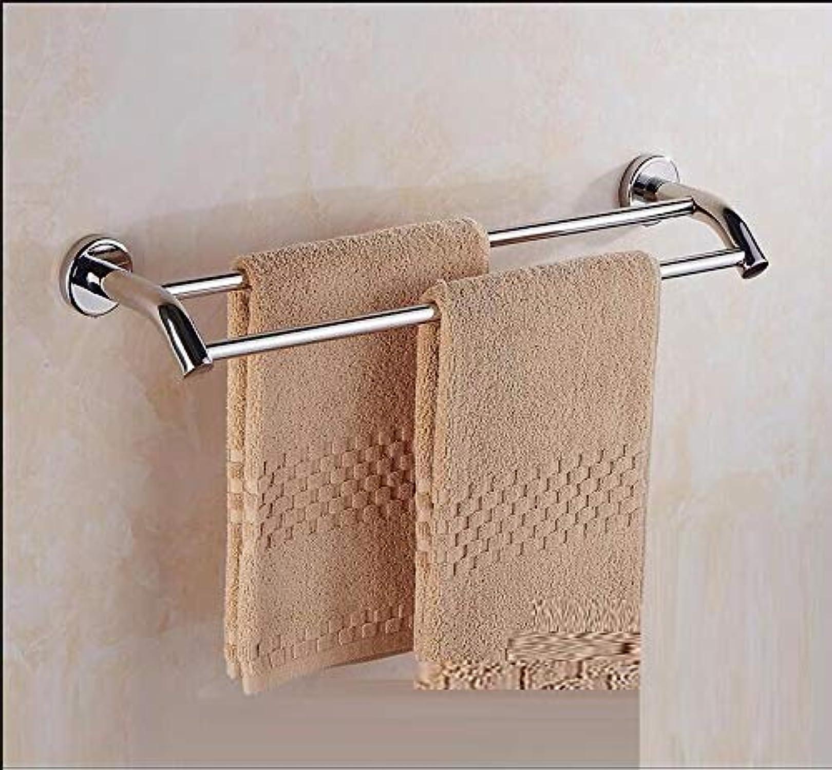 venta al por mayor barato Barra de toalla toalla toalla de acero inoxidable 304 bao accesorios doble polo 40CM Toalla colgando  genuina alta calidad