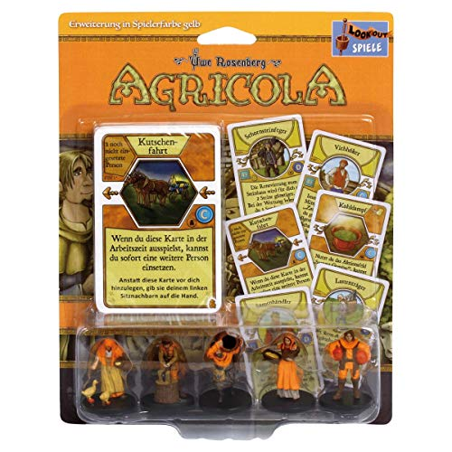 Lookout Games 22173045 Agricola Minis, Gelb