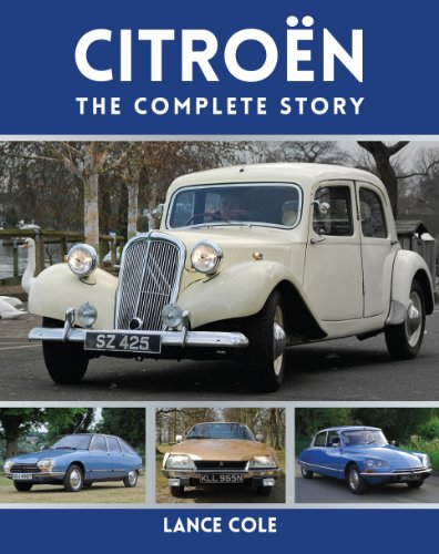 Citroen: The Complete Story (English Edition)