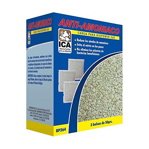 ICA BP265 Carga Anti-Amoniaco para Filtros Biopower