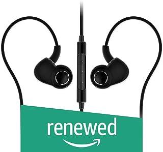 (Renewed) SoundMagic PL30+C in-Ear Headphones with Mic (Black)