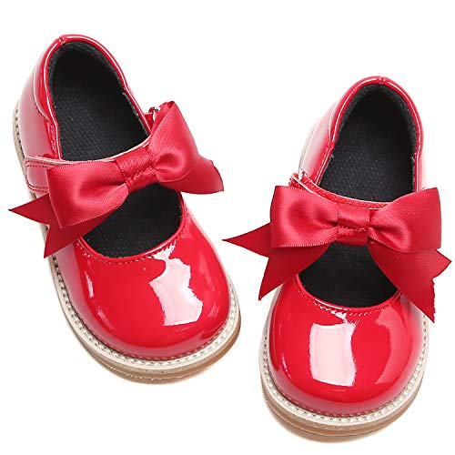 Kiderence Girls Flat Dress Shoes School Oxfords Marry Jane...
