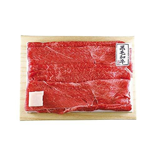 ( 産地直送 お取り寄せグルメ ) 京都モリタ屋 国産黒毛和牛前バラすき焼き 450g