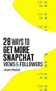 get snapchat views
