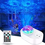 Star Projector 3 in 1 Galaxy Night Light Projector for Bedroom with Bluetooth Music Speaker Remote Control 3 White Noises Party Home Decor, Timing Sky Starry Projector for Kids