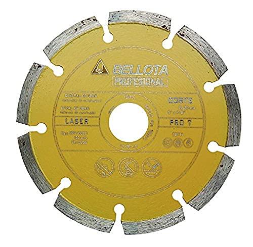 Bellota 50711-115 Disco Diamante General DE Obra. SEGMENTADO. Pro 7 Laser 115MM, Standard, 115 mm