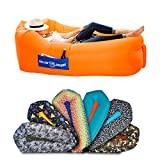 Chillbo Baggins 2.0 Best Inflatable Lounger Hammock Air Sofa and Pool Float Ships Fast! Ideal Summer Gift Air Lounger for Indoor or Outdoor Use or Inflatable Lounge for Camping Picnics & Festivals