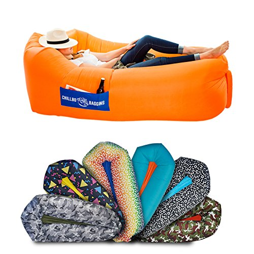 Chillbo Baggins 2.0 Best Inflatable Lounger Hammock Air Sofa and...