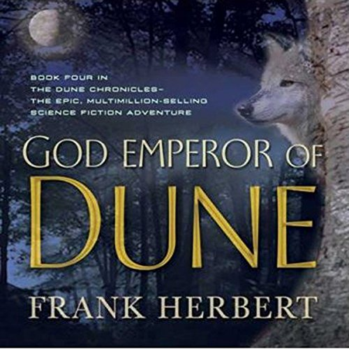 God Emperor of Dune audiobook cover art