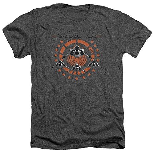 Battlestar Galactica Squadron - Camicia da Uomo