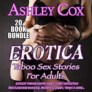Erotica Taboo Sex Stories for Adults: 20 Book Bundle audiobook cover art