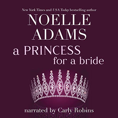 A Princess for a Bride audiobook cover art