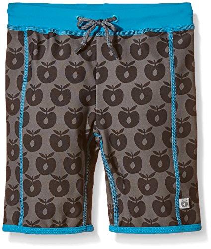 Småfolk Jungen Swimwear. Pants L, Apples Badehose, Grau, 86