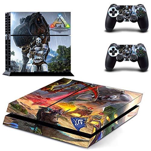 XIANYING Ark Survival Evolved Ps4-Aufkleber Play Station 4 Skin Sticker-Aufkleber für Playstation 4 Ps4 Console & Controller Skins Vinyl