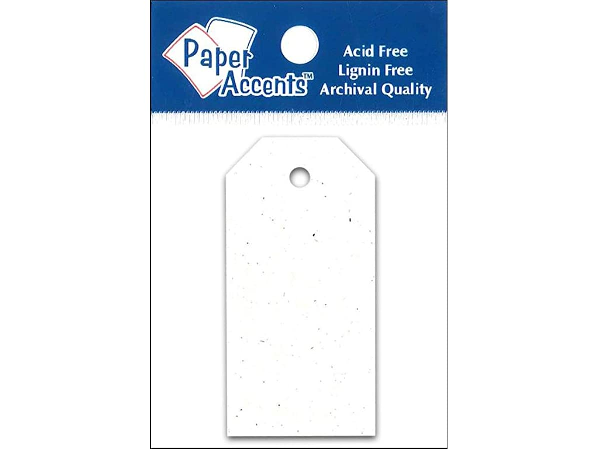Accent Design Paper Accents 1.25x2.5 Craft Tags Birch