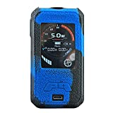 DSC-Mart Schutzhülle für SMOANT CHARON Mini 225W TC MOD (Silikon) Schwarz / Blau